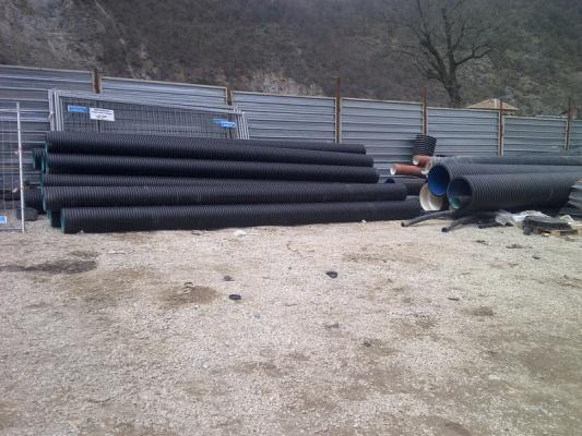 """Във връзка с изпълнението на проект """"Реконструкция на участъци от главни канализационни клонове"""