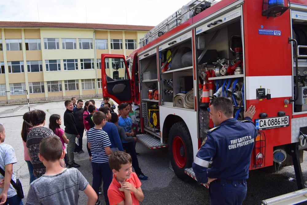 """Предстои традиционното провеждане на """"Седмицата на пожарната безопасност"""" от 14 до 18 септември 2020 г.  и честването на Празника на огнеборците """"14-ти септември"""""""